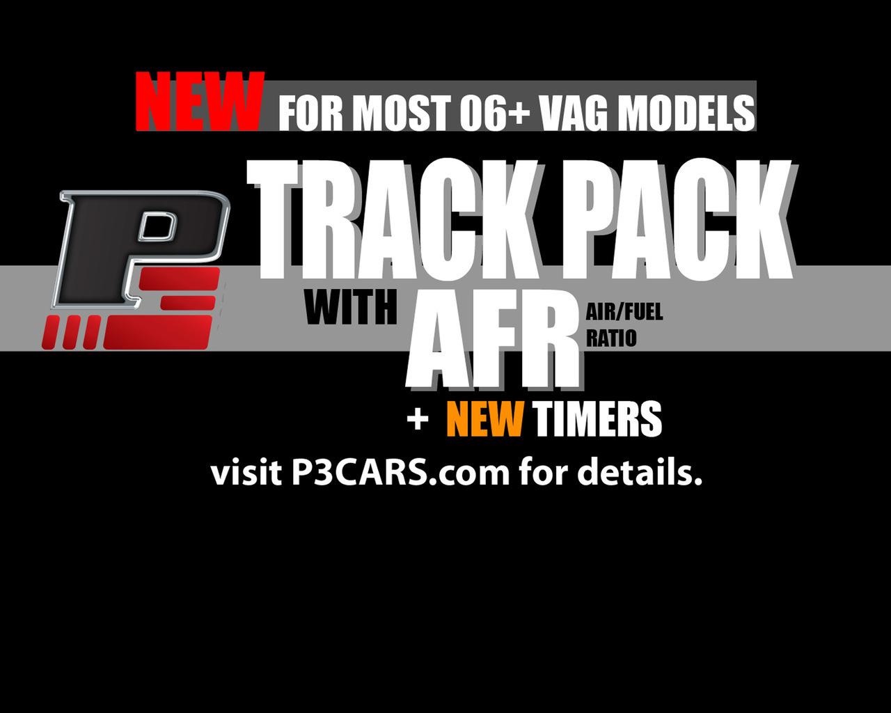 VW / Audi TRACK PACK software upgrade for P3Cars gauge
